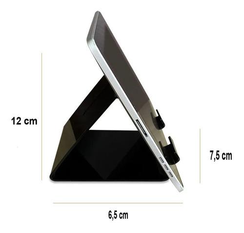 kit suporte de mesa celular smartphone e tablet ipad display