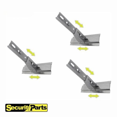 kit suporte fixação motor portão eletrônico basculante plus