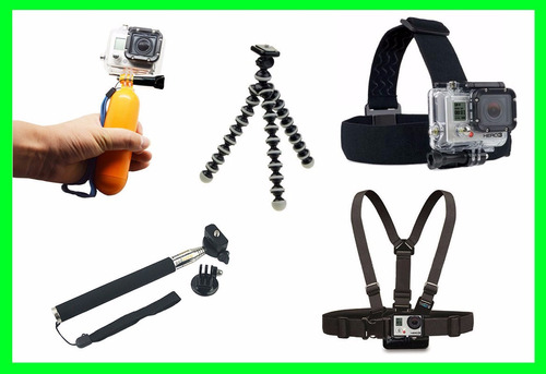 kit suporte gopro hero kit acessórios gopro 6 black hero 5 7