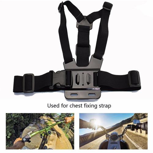 kit suportes gopro hero 3 4 hero 5 go pro 6 maleta luva 360º