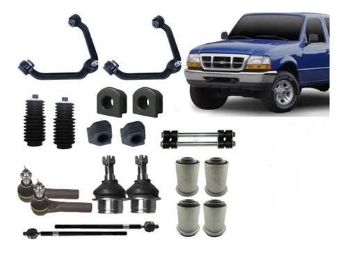 kit suspensão dianteira ford ranger 1998 a 2004 - 20 peças