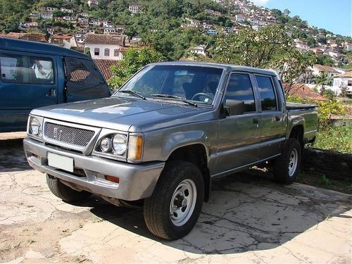 kit suspensão dianteira l200 gl gls 1995 a 2005 - 26 peças