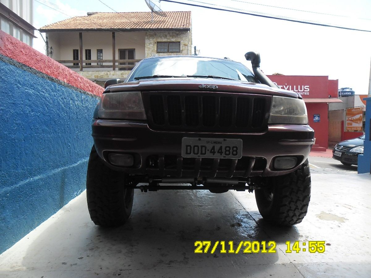 Kit Suspensão Jeep Cherokee Zj Rough Country 6 Long Arm. Carregando Zoom.