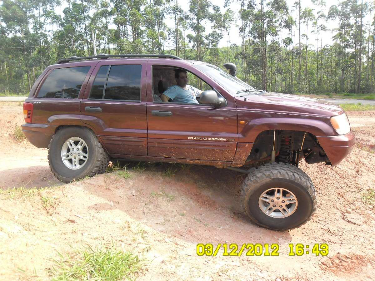 Delightful Kit Suspensão Jeep Cherokee Zj Rough Country 7,25 Long Arm. Carregando Zoom.