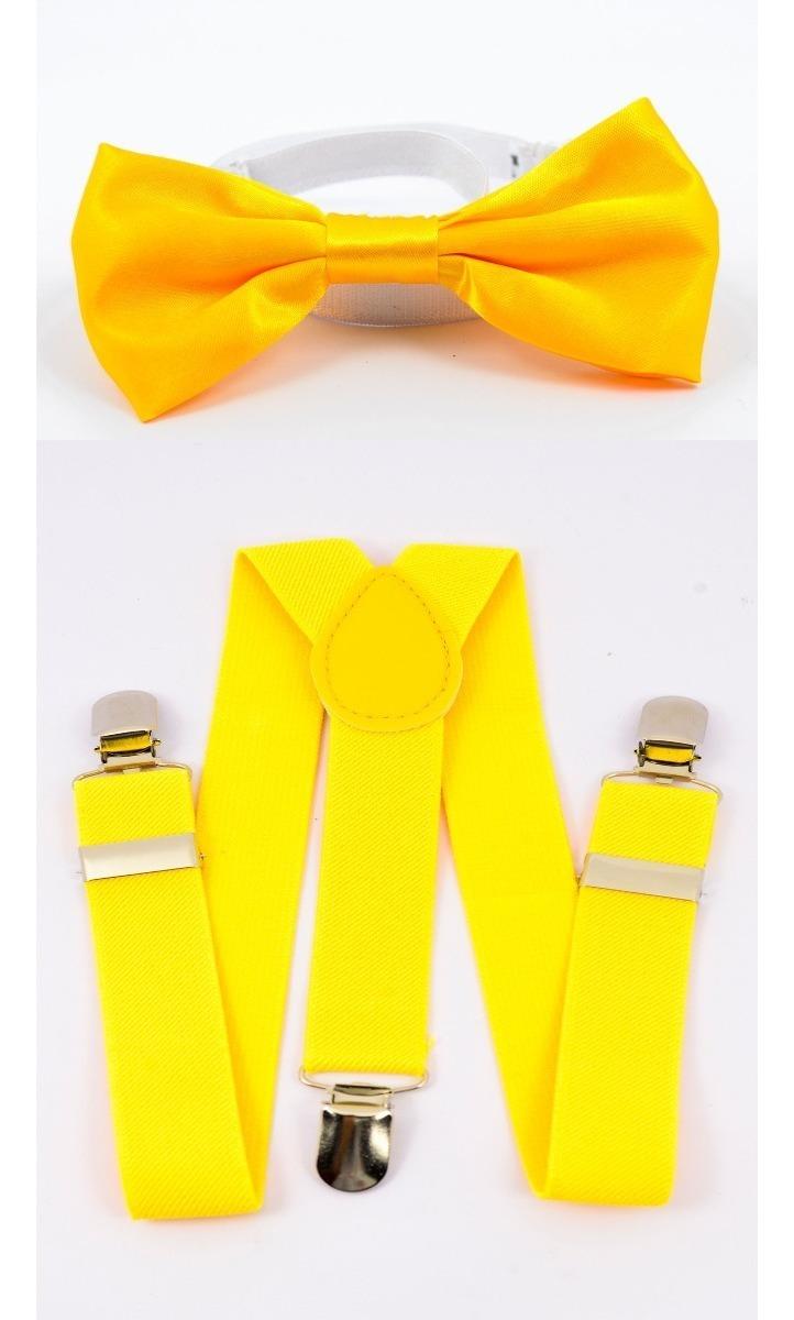 bbba1d16a4 kit suspensorio e gravata borboleta adulto ou infantil. Carregando zoom.