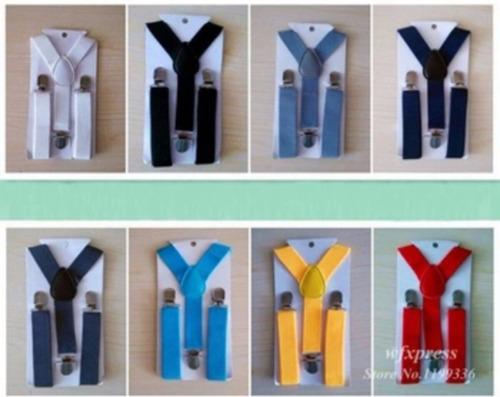 kit suspensório + gravata borboleta para bebê de 0 a 4 anos