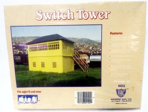 kit  switch tower  para armar - escala h0 1/87 - ihc 4102