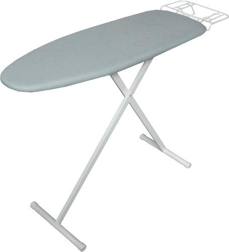 kit tabla planchar grande base malla metal +1 percha zapat**