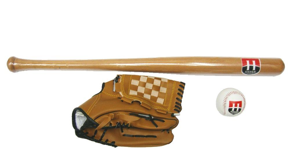 69a7017ab kit taco de baseball de madeira com bola e luva. Carregando zoom.
