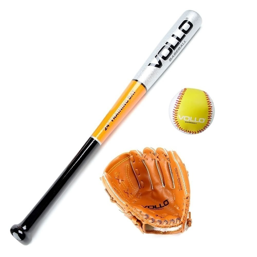 f6ed2dc97 Kit Taco De Beisebol Vollo - Taco + Bola + Luva - Baseball - R  239 ...