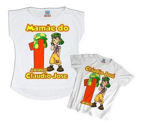 3b9f456feb4db9 Kit Tal Mãe Tal Filho Chaves Com Nome Personalizado Festa