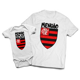 346d14b1340ea9 Kit Tal Pai Tal Filho   Camiseta + Body   Flamengo