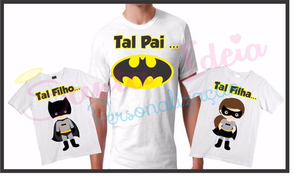 38341ca9db0095 Kit Tal Pai, Tal Filho(a) Batman
