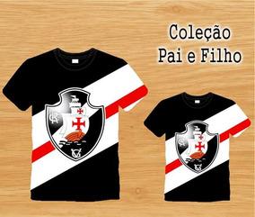 fc41313f85bf5b Kit Tal Pai(mãe) Tal Filho(a) - Vasco - Personalizado