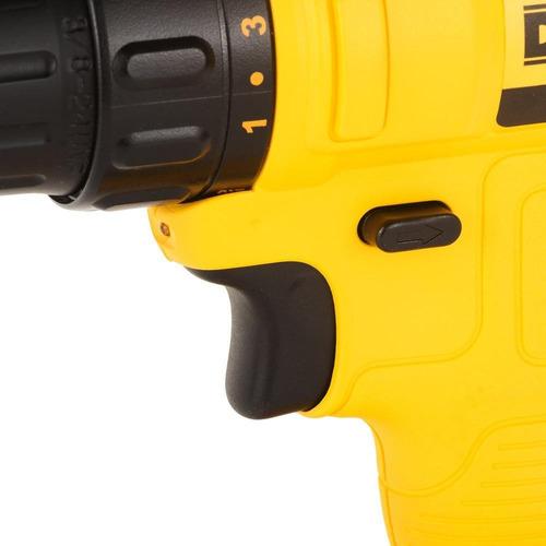 kit taladro atornillador 12v 3/8 pg + 109 accesorios dewalt