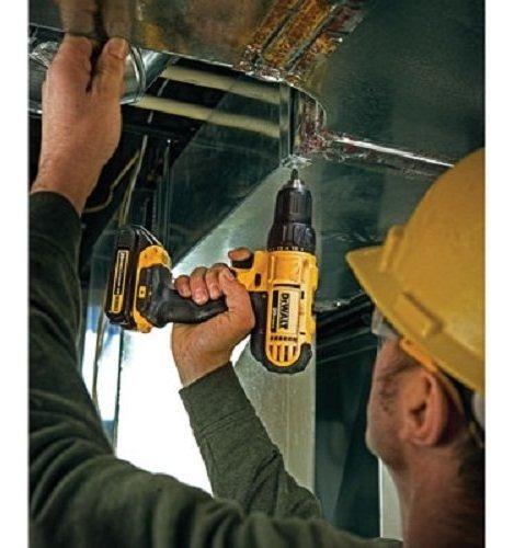 kit taladro dewalt 20v litio dos baterias y bolso