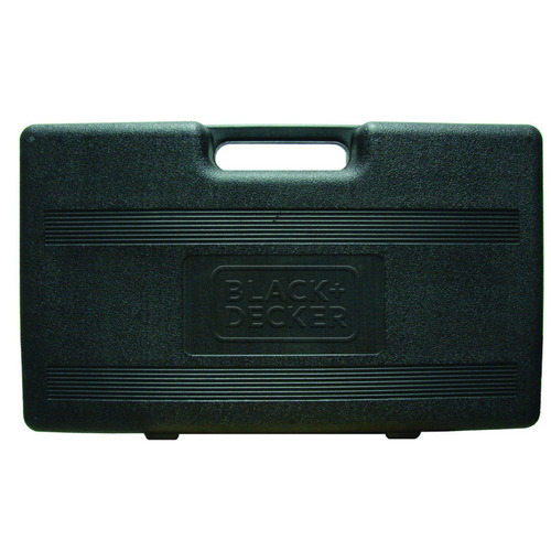 kit taladro percutor de 1/2 con 40 accesorios black & decker