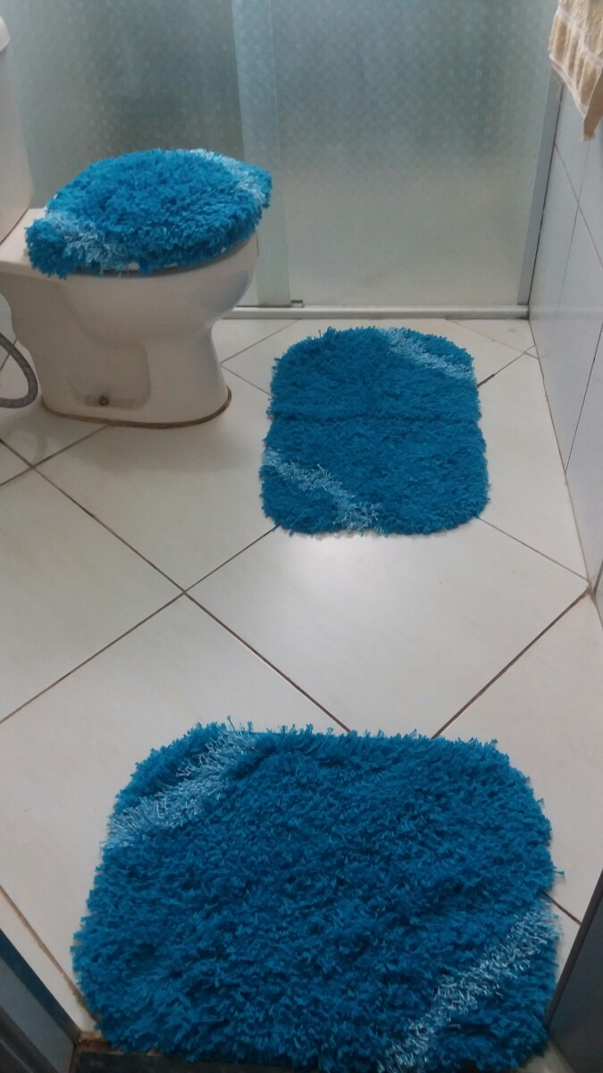 Kit Banheiro Molde : Kit talagar?a molde jogo de banheiro pe?as r em