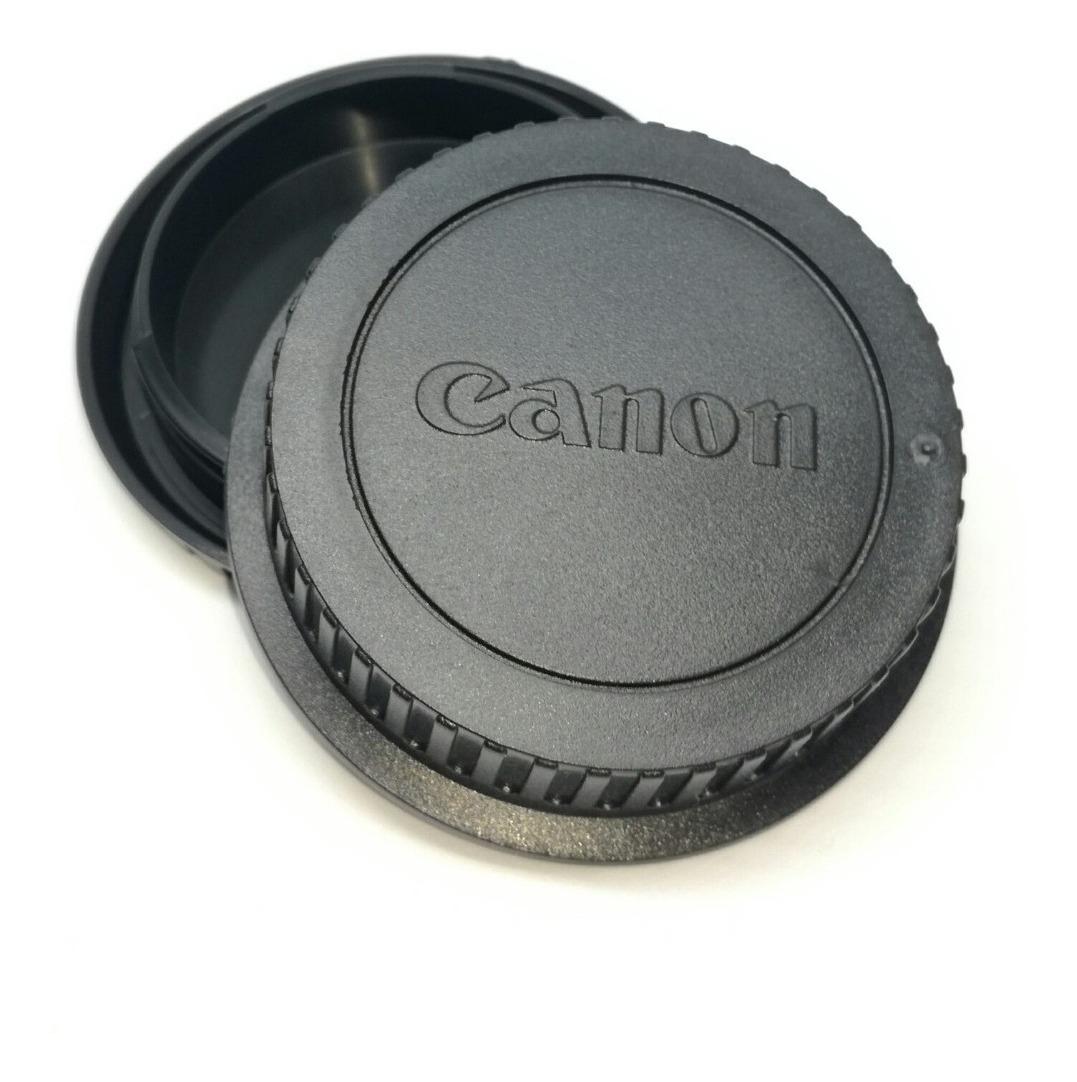 Pack compatible de tapas trasera de objetivo y para cuerpo de Canon EOS M