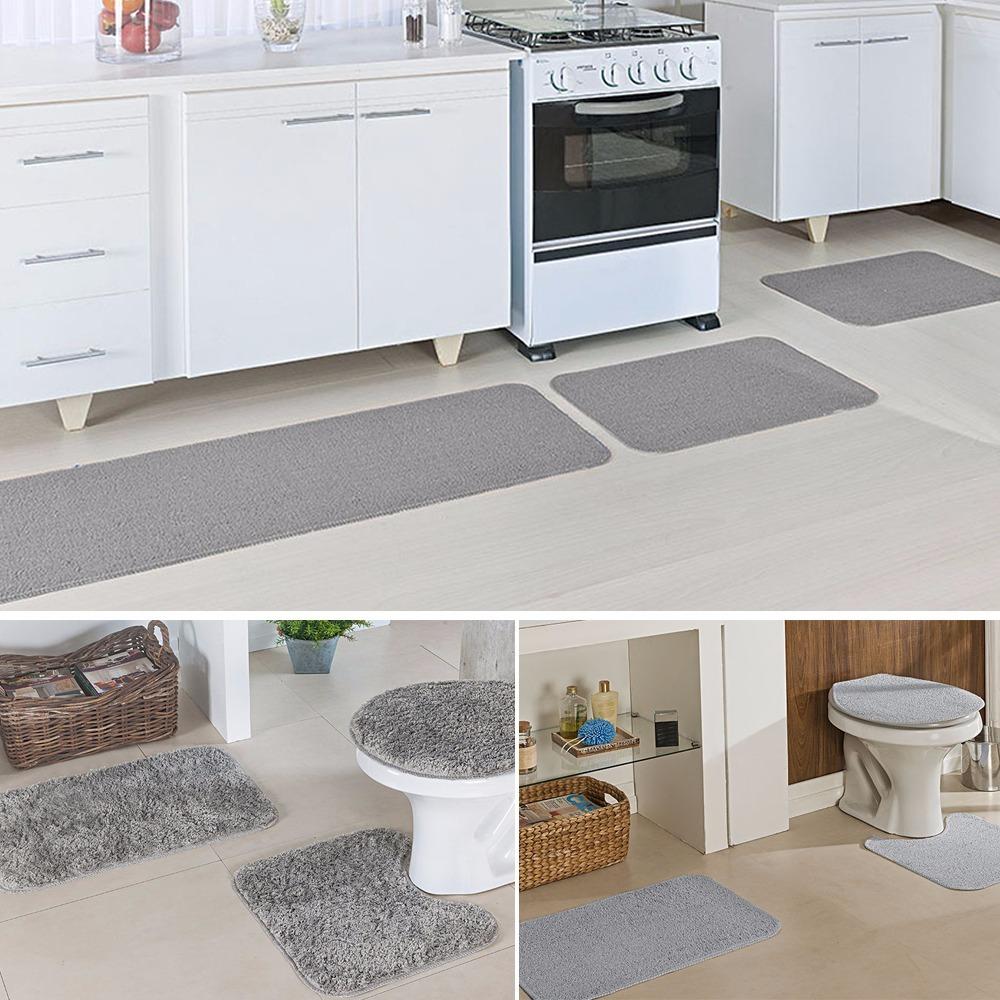d0c2fa0ed kit tapete cozinha natura banheiro classic e natura cinza. Carregando zoom.