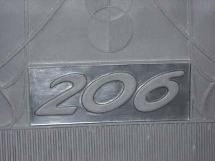 kit tapete personalizado  boracha ranger cd  2005 cor preto