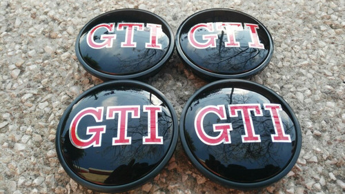 kit tapones centros de rin golf gti vw