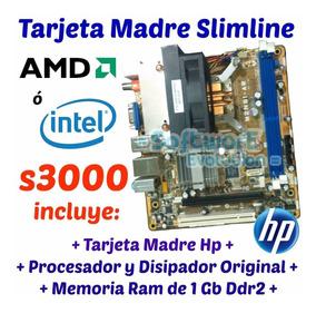 Kit Tarjeta Madre Hp Slimline Amd + 1 Gb C/ Factura