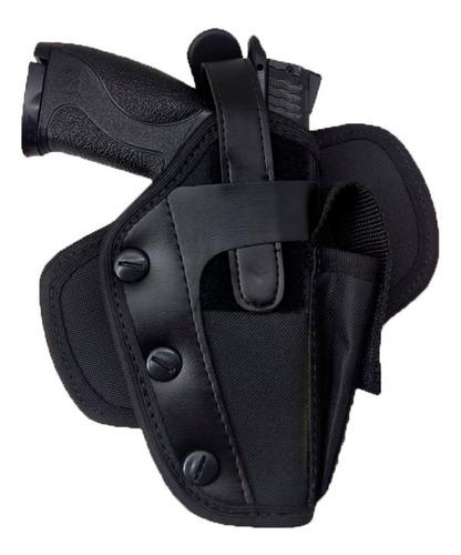 kit tatico - 2 coldre de perna robocop + 2 coldre de cintura