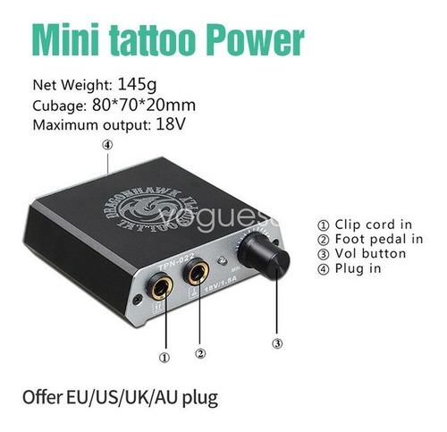 kit tattoo tatuaje principiante 2 maquinas f13 w01