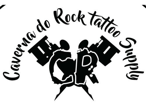 kit tatuagem completo tattoo platinum profissional + brinde