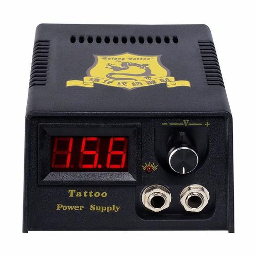 kit tatuaje profesional 4 maquina tatuar (2 rotativ) f7 w01