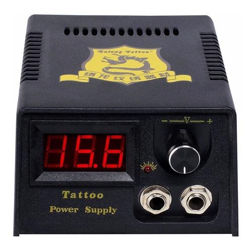 kit tatuaje profesional 4 maquina tatuar (2 rotativa) f7 w01