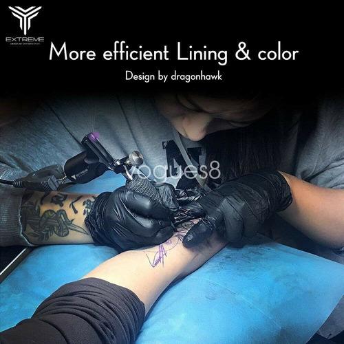 kit tatuaje tattoo dragonhawk extreme maquina rotativa negro
