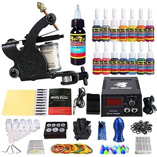 kit tatuaje tatuar 1 maquina tattoo solong