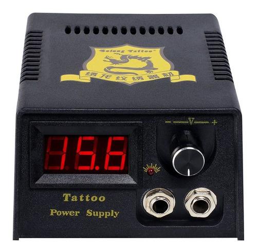 kit tatuaje tatuar completo 1 maquina tatto 15tintas a10 w01