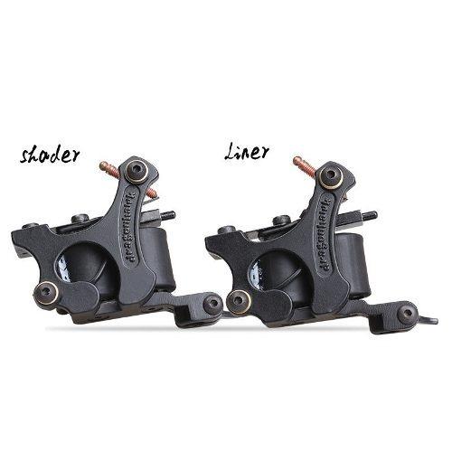kit tatuajes tatuar 10 maquinas (1 rotativa) + maleta g2 w01
