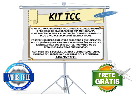 kit tcc : bases, modelos, manuais, apps e aulas (monografia)