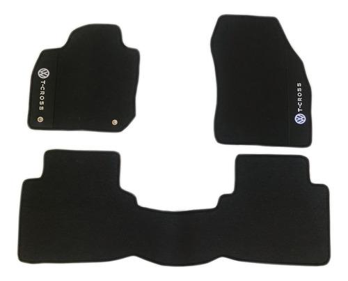 kit tcross t-cross 2020 tapetes internos e porta malas