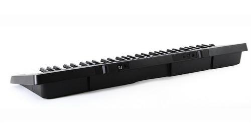 kit teclado 61 teclas ctk-3500 casio sensitivas com fonte