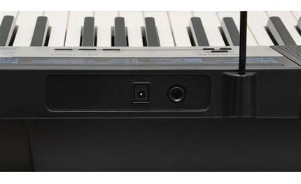 kit teclado arranjador 5/8 ctk 1550 com capa casio vermelha