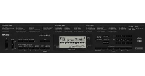 kit teclado arranjador 61 teclas ctk-3500 casio pedal sustai