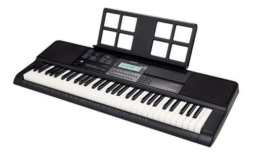 kit teclado arranjador 61 teclas ctx-800 casio completo