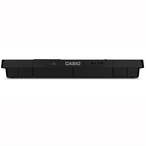 kit teclado arranjador 61 teclas usb ctx-800 casio com pedal