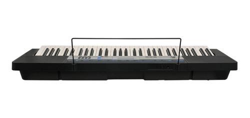 kit teclado arranjador 61t 5/8 ctk-1550 casio completo