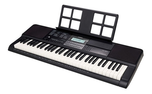 kit teclado arranjador musical 61 teclas ctx800 casio + x10s