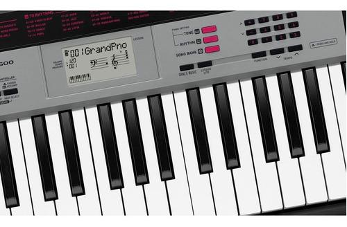 kit teclado casio ctk1500 musical 5/8 completo camuflado