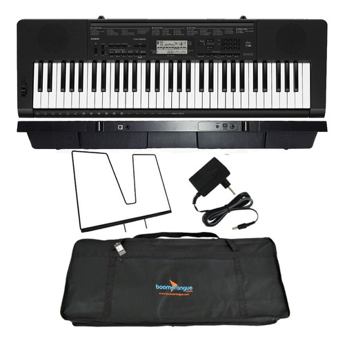 kit teclado casio ctk3500 digital musical 61 teclas com capa