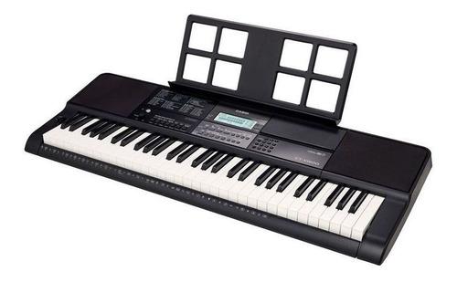 kit teclado casio ctx800 usb musical 5/8 completo camuflado