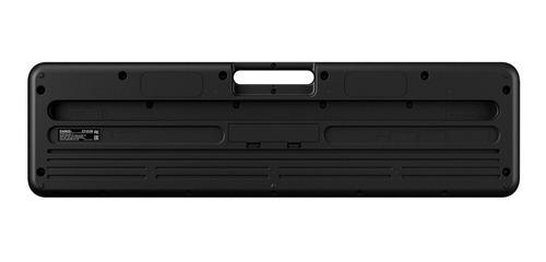 kit teclado casio tone ct-s100 musical 61 teclas capa casio
