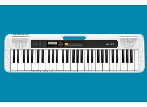 kit teclado casio tone ct-s200 musical 61 teclas usb branco